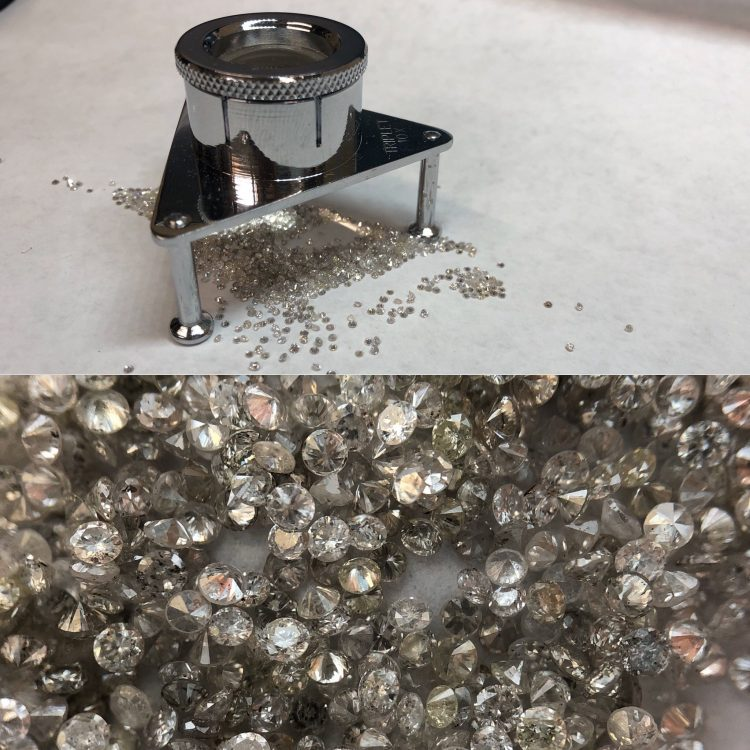 JAGi Lab's Diamond Melee Sorting Services