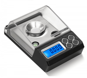 Side View of Portable Digital Carat Scale